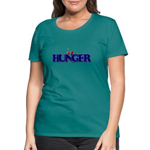 TShirt Hunger cerise - T-shirt Premium Femme