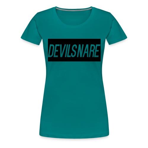 Devilsnare555's blood red backback - Women's Premium T-Shirt