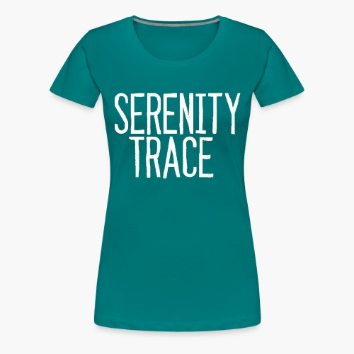Serenity Trace LOGO W - Premium T-skjorte for kvinner
