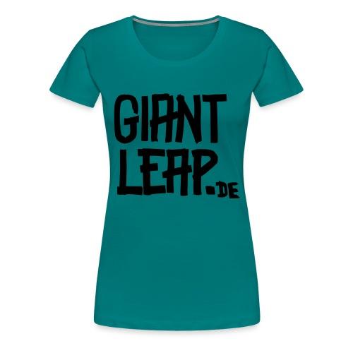 schriftzugMolotow svg - Frauen Premium T-Shirt