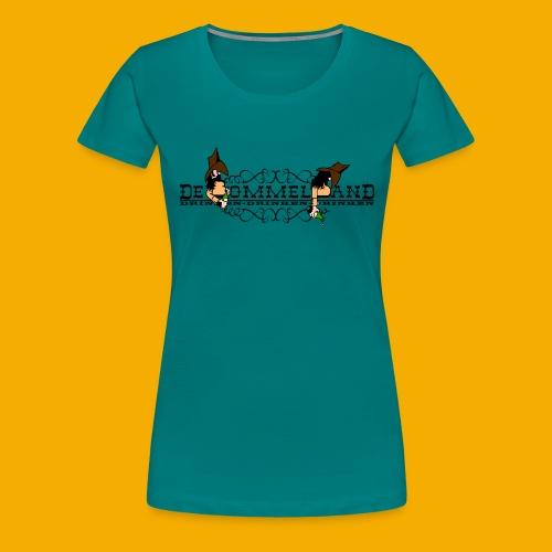 tshirt logo vintage - Vrouwen Premium T-shirt