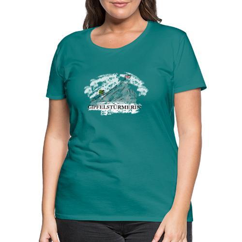 Gipfelstürmerin - Frauen Premium T-Shirt