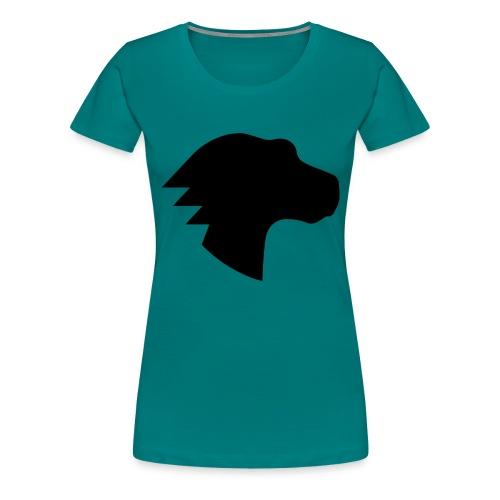 Dino Positive Logo - Women's Premium T-Shirt