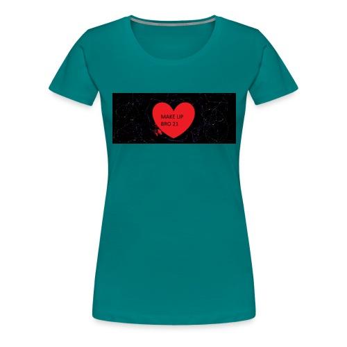 make up bro 2 - Frauen Premium T-Shirt