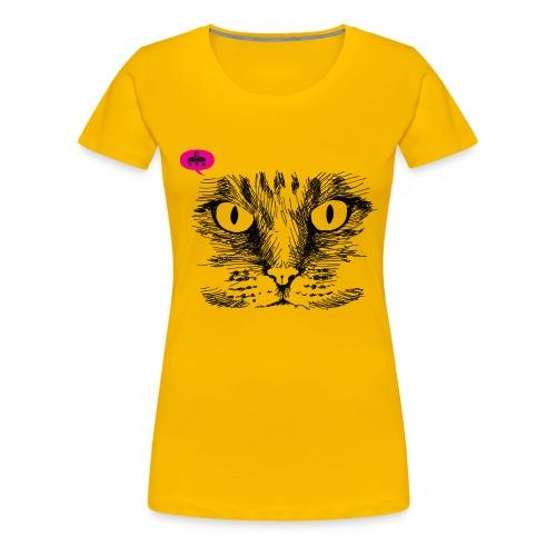 kattegezicht vdh - Vrouwen Premium T-shirt