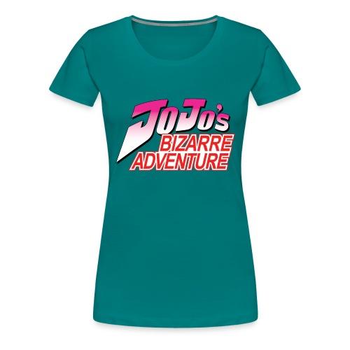 Jojo's Bizarre Adventure Logo T Shirt - Camiseta premium mujer