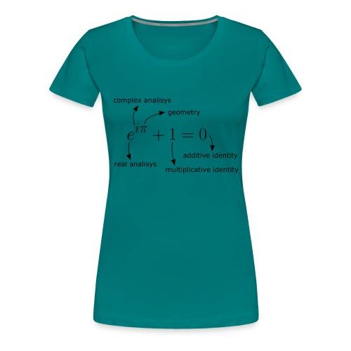 Euler Identity T-Shirt - Women's Premium T-Shirt