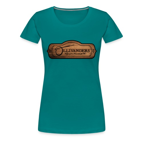 ollivanders sign - T-shirt Premium Femme