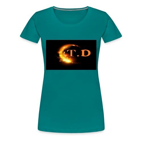 td - T-shirt Premium Femme