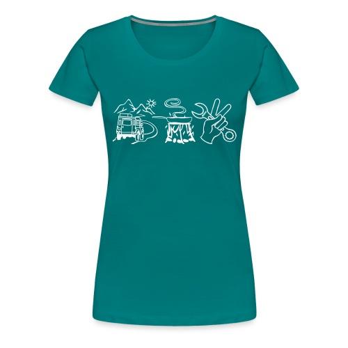 fahrenessenschrauben - Frauen Premium T-Shirt