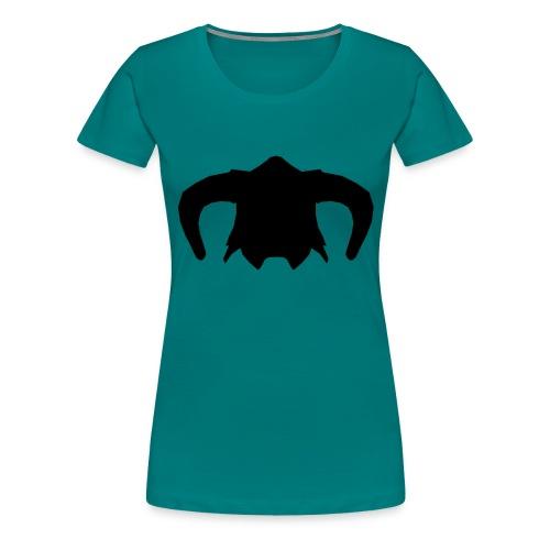 Nord Warrior Helm T-Shirt - Maglietta Premium da donna