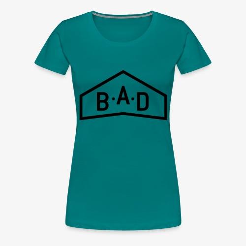 logo B A D official - T-shirt Premium Femme