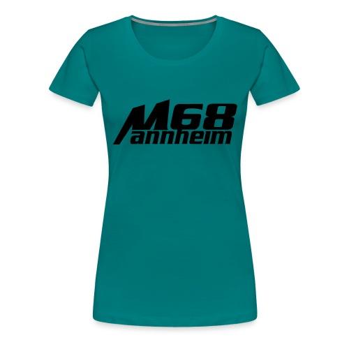 mannheim 68, Mannheim - Frauen Premium T-Shirt