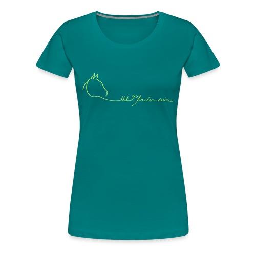 MPS Logoschriftzug gr offizieller Logoschriftzug - Frauen Premium T-Shirt