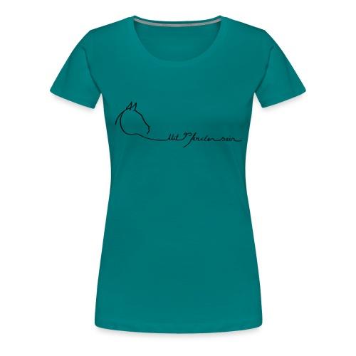 MPS Logoschriftzug kl. Dreamhorse - Frauen Premium T-Shirt