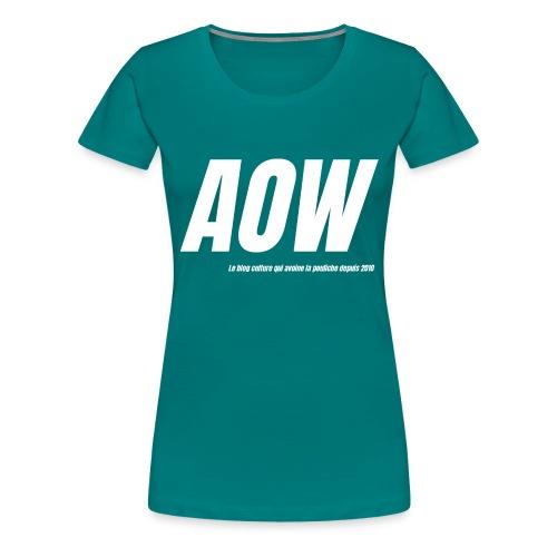 AOW 2021 #2 - T-shirt Premium Femme