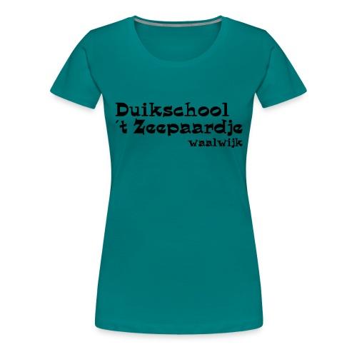 tekst onder elkaar - Vrouwen Premium T-shirt