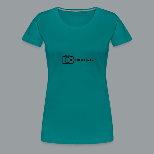 PHOTO WAUMAN Big Logo - Vrouwen Premium T-shirt