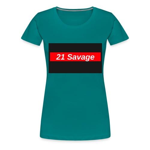 21 Savage - Women's Premium T-Shirt