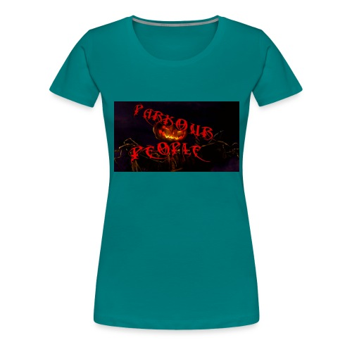 Parkour people spooky clothing - Women's Premium T-Shirt