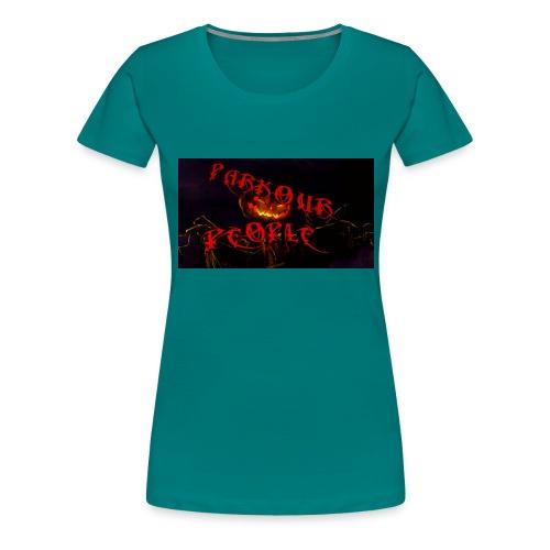 Parkour people spooky clothing - Women's Premium T-Shirt