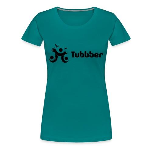 Tubbber B&W - Women's Premium T-Shirt