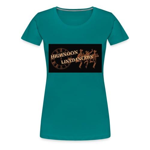 Logo neu Spread2 - Frauen Premium T-Shirt