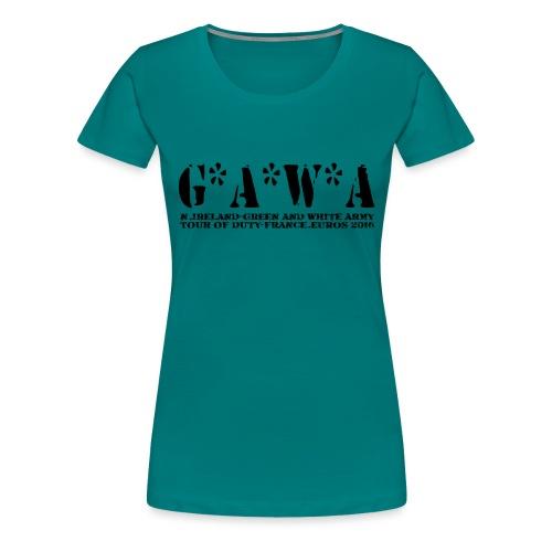 G*A*W*A - Women's Premium T-Shirt