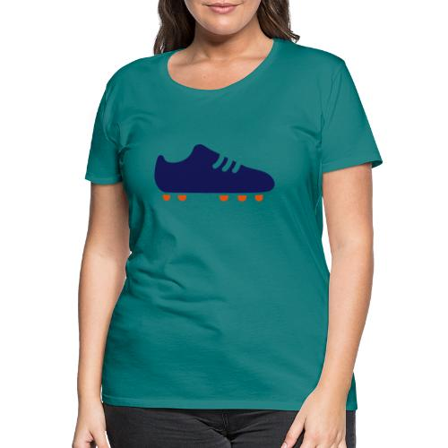 footBALL boot - Women's Premium T-Shirt
