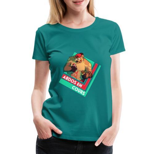 Abdos en cours - T-shirt Premium Femme
