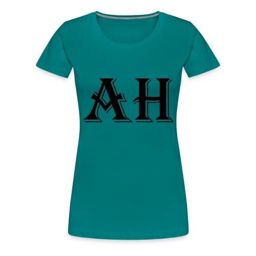 AH logo - Vrouwen Premium T-shirt