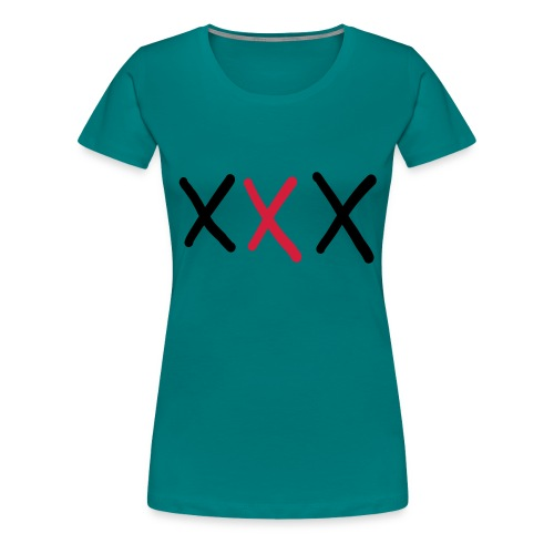 XXX - Frauen Premium T-Shirt