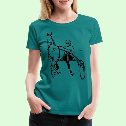 Le Trotteur Français - T-shirt Premium Femme