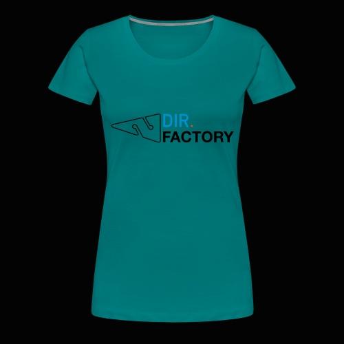 Logo mit Arrow DESIGN - Frauen Premium T-Shirt
