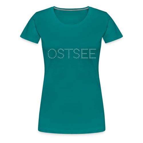 Ostsee Muscheln - Frauen Premium T-Shirt