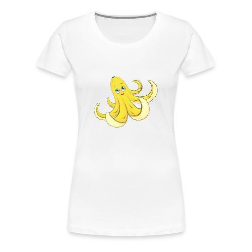 Bananen Oktopus - Oktopus Banane - Lustige Früchte - Frauen Premium T-Shirt
