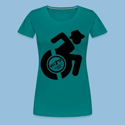 WCMman1 - Vrouwen Premium T-shirt