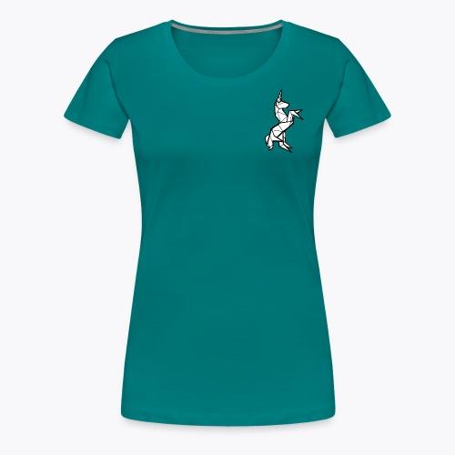 Geometric Unicorn - Women's Premium T-Shirt