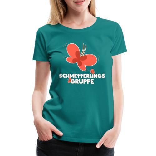 Schmetterling Gruppe Kindergarten - Frauen Premium T-Shirt