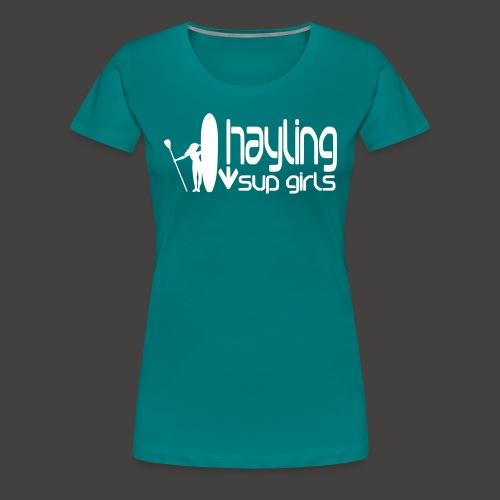 hayling-sup-girls-1 - Women's Premium T-Shirt