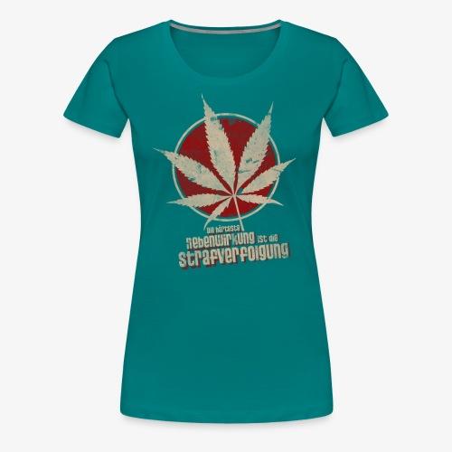 nebenwirkung - Frauen Premium T-Shirt