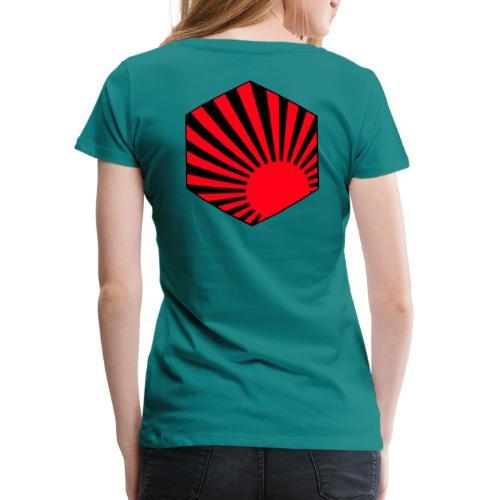 Rising Sun Medal - T-shirt Premium Femme