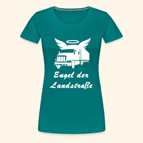 Engel der Landstrasse - Frauen Premium T-Shirt