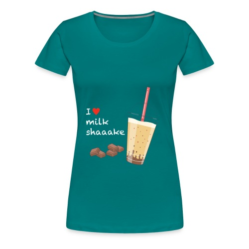 Milkshake - Frauen Premium T-Shirt