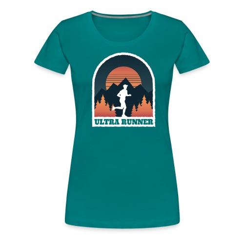 Ultralauf Ultra Runner Geschenk für Ultraläufer - Frauen Premium T-Shirt