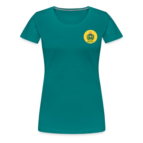 Monarquia Brasil - Premium T-skjorte for kvinner