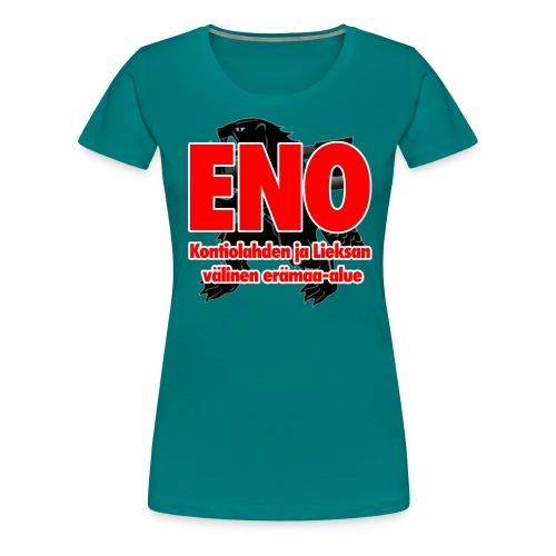 Eno - Kontiolahden ja Lieksan välinen erämaa-alue - Naisten premium t-paita