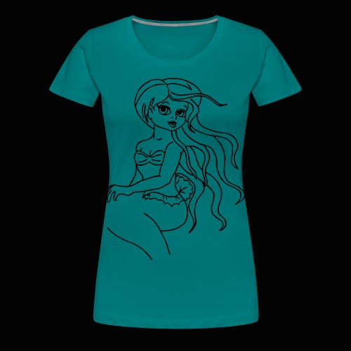 meerfrau - Frauen Premium T-Shirt