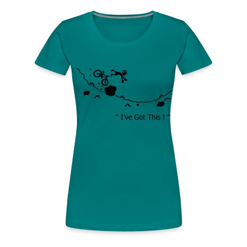 I've Got This! Bike Crash - Women's Premium T-Shirt