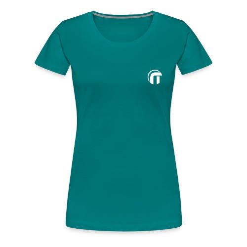 Logo Nowtech blanc - T-shirt Premium Femme